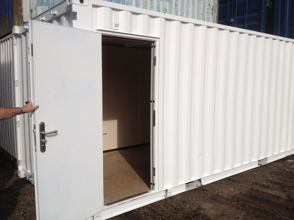 Changing room container conversion