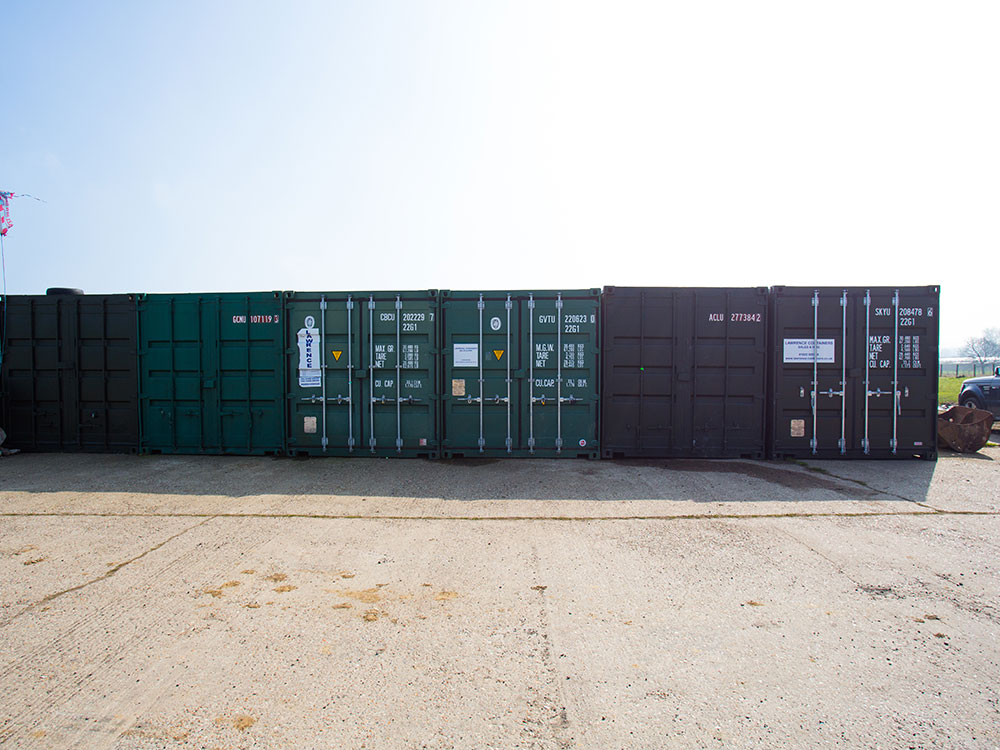 Self storage 20FT containers