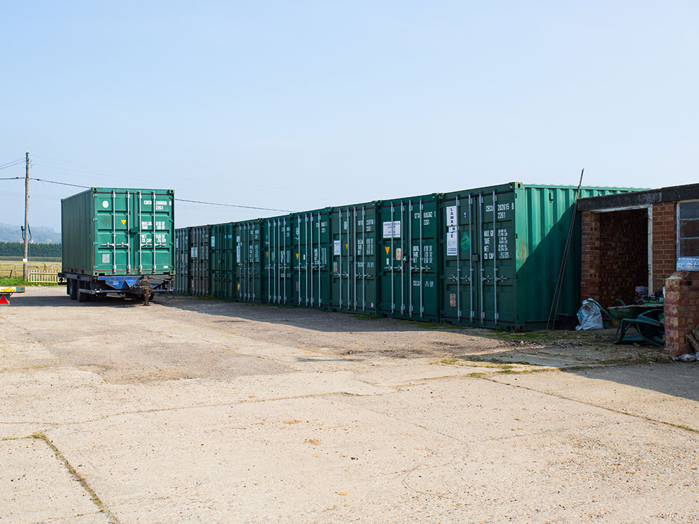 Self storage new containers
